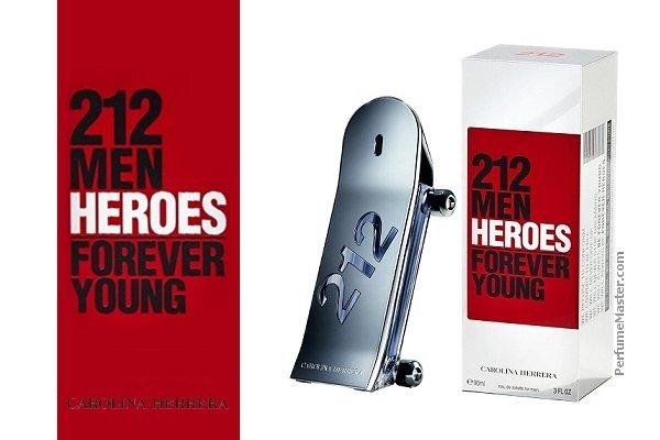212 HEROES FOREVER YOUNG BY CAROLINA HERRERA By CAROLINA HERRERA For MEN