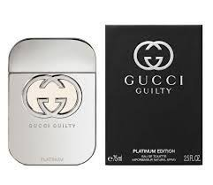 GUCCI GUILTY PLATINUM 2.5 EDT SPRAY BY GUCCI