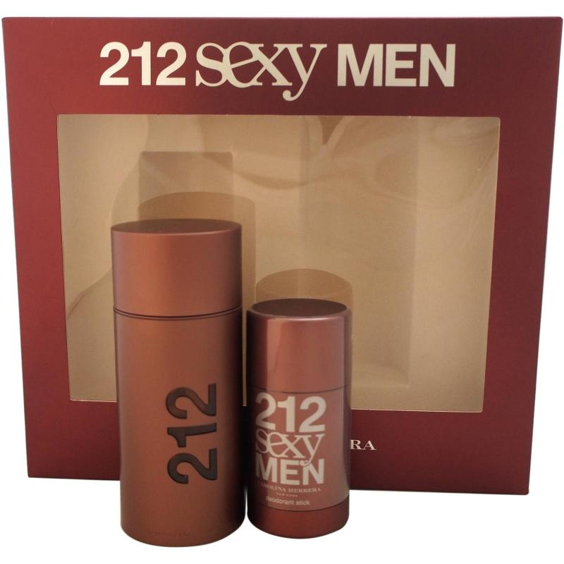 GIFT/SET 212 SEXY 2 PCS.  3.4 FL BY CAROLINA HERRERA FOR MEN