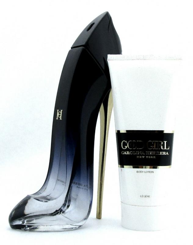 GIFT/SET GOOD GIRL  LEGERE BY CAROLINA HERRERA 2 PCS.  2.7 FL BY CAROLINA HERRERA FOR WOMEN