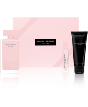 GIFT/SET NARCISO RODRIGUEZ 3 PCS. : 3. BY NARCISO RODRIGUEZ FOR WOMEN