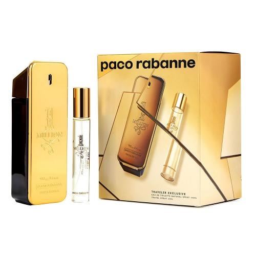 GIFT/SET 1 MILLION BY PACO RABANNE 2PCS. [3.4 FL