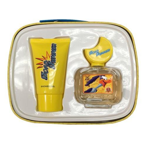 GIFT/SET ROAD RUNNER TIN CAN 2 PCS.  1.7 FL BY DISNEY FOR KIDS