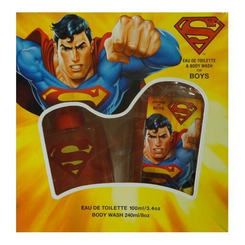 GIFT/SET SUPPERMAN 2 PCS.  3.4 FL BY DISNEY FOR KIDS
