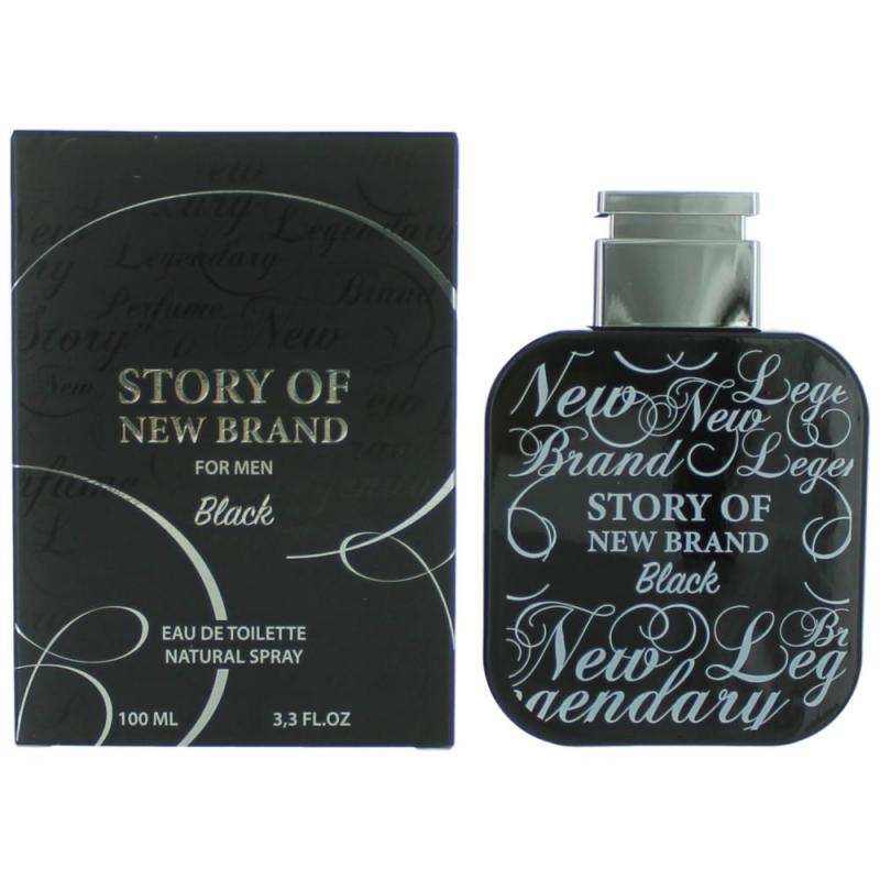 STORY OF NEW BRAND FOR MEN BLACK BY NEW BRAND