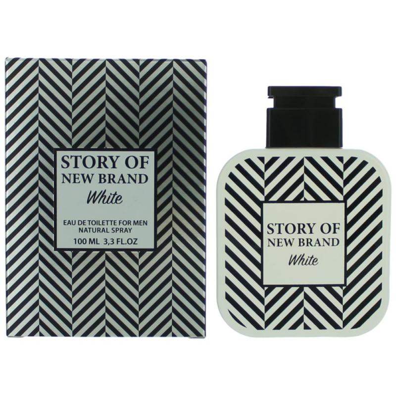 STORY OF NEW BRAND FOR MEN WHITE BY NEW BRAND