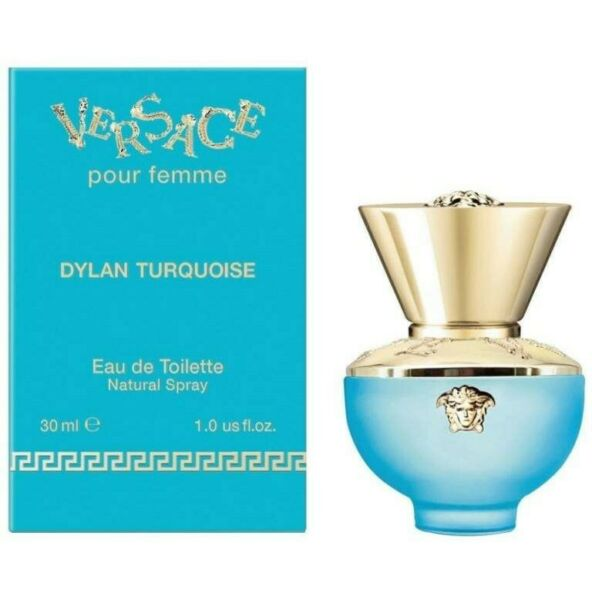 DYLAN TURQUOISE POUR FEMME BY VERSACE