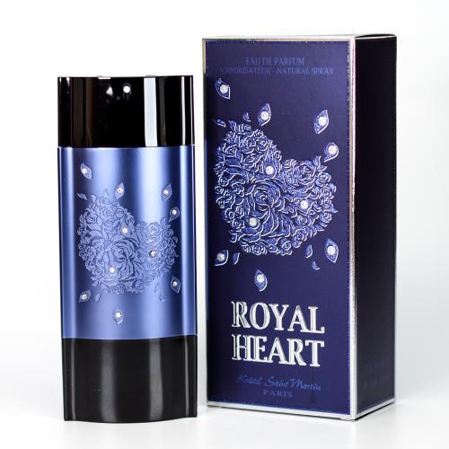 ROYAL HEART BLUE BY KRISTEL SAINT MARTIN