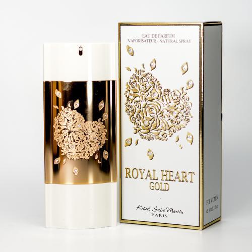 ROYAL HEART GOLD BY KRISTEL SAINT MARTIN