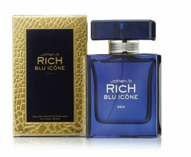 RICH BLU ICONE BY JOHAN B By JOHAN B For MEN