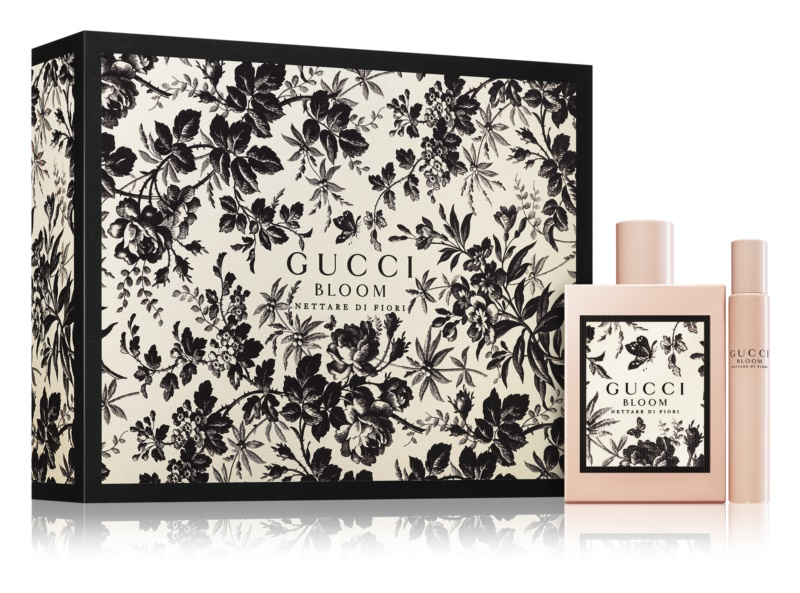 GIFT/SET GUCCI BLOOM NETTARE DI FIORI 2 PCS  3.4 EDP + .25 EDP R.BALL. DESIGNER:GUCC By GUCCI For R.BALL
