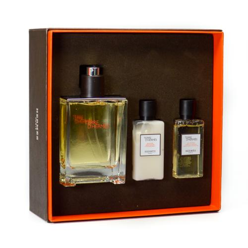 GIFT/SET TERRE D(HERMES 3 PCS.  3. BY HERMES FOR MEN