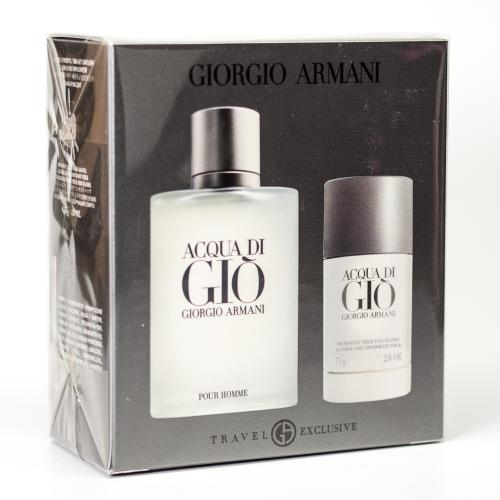 GIFT/SET ACQUA DI GIO 2 PCS. [3.4 FL By GIORGIO ARMANI For MEN