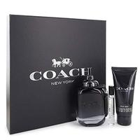 GIFT/SET COACH NEW YORK BY COACH 3 PCS.  100M By COACH For MEN