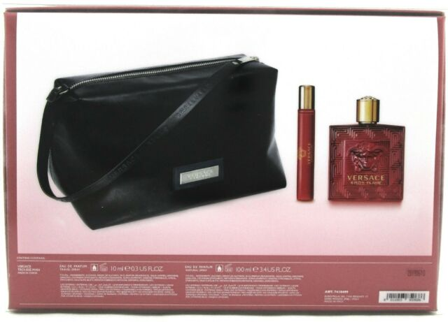 GIFT/SET VERSACE EROS FLAME BY VERSACE 3 PCS.  3.