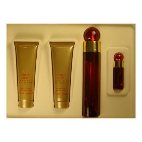 GIFT/SET 360 RED 4 PCS.  3.4 FL