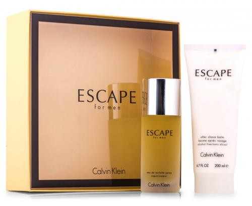 GIFT/SET ESCAPE 2PCS. MEN (3.4 FL