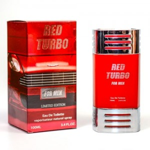 RED TURBO BY CRYSTAL DISTRIBUTORS By CRYSTAL DISTRIBUTORS For MEN