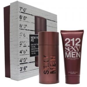 GIFT/SET 212 SEXY 2 PCS.  3.4 FL By CAROLINA HERRERA For MEN
