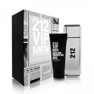 GIFT/SET 212 VIP 2 PCS.  3.4 FL BY CAROLINA HERRERA FOR MEN