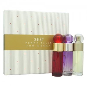GIFT/SET 360 3 PCS.  1. BY PERRY ELLIS FOR WOMEN