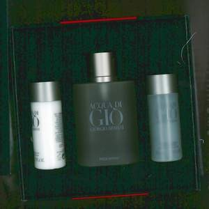 GIFT/SET ACQUA DI GIO 3 PCS.  3. BY GIORGIO ARMANI FOR M