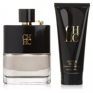 GIFT/SET CH MEN PRIVE 2 PCS.  3.4 FL By CAROLINA HERRERA For MEN