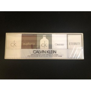 GIFT/SET CALVIN KLEIN 5 PCS.  .CK ONE 10M BY CALVIN KLEIN FOR WOMEN