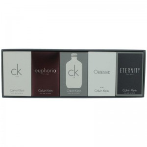 CALVIN KLEIN 5 PCS. SET: CK ONE 10ML EDT , ETERNITY 10ML EDT, EUPHORIA 10ML EDT, OBSESSED 10ML EDT, CK ALL 10ML EDT MEN. DESIGNER:CALVIN By  For