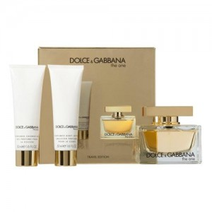GIFT/SET THE ONE 3 PCS.  2.5 FL BY DOLCE & GABBANA FOR WOMEN