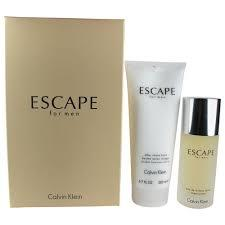GIFT/SET ESCAPE 2PCS. MEN (3.4 FL BY CALVIN KLEIN FOR MEN