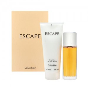 GIFT/SET ESCAPE 2 PCS.  3.4 FL BY CALVIN KLEIN FOR WOMEN