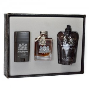 GIFT/SET DIRTY ENGLISH 3 PCS.  3.4 FL BY JUICY COUTURE FOR MEN