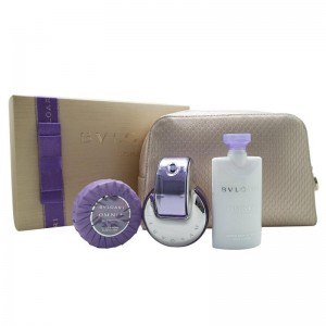 GIFT/SET BVLGARI OMNIA AMETHYSTE 4 PCS. INCLUDES 2.2 FL By BVLGARI For WOMEN