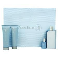 GIFT/SET PERRY 18 4 PCS.  3.4 FL BY PERRY ELLIS FOR MEN