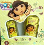 GIFT/SET DORA ADORABLE 2 PCS.  3.4 FL Perfume By NICKELODEON For KIDS