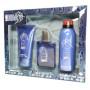 GIFT/SET NBA 3 PCS.  3.3 FL Perfume By AIR VAL INTERNATIONAL For KIDS
